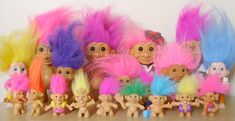 Magic Troll – Do you remember? Vintage Barbie, Vintage Toys, Polly Pocket, 90s Childhood, My Childhood Memories, Barbie Dream, Fisher Price, 90s Toys, Troll Dolls