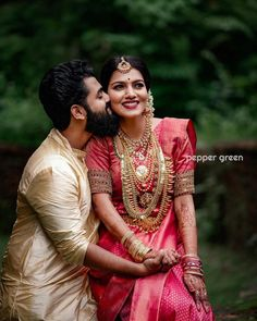 Indian Bride Poses, Indian Wedding Poses, Indian Wedding Couple Photography, Wedding Couple Photos, Couple Photography Poses, Indian Bridal, Wedding Couples, Tamil Wedding, Photography Flowers