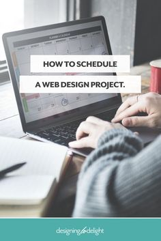 Designers and freelancers - this is a look behind the scenes - exactly how I schedule a web design project and still leave myself plenty of margin. Tired of living in the urgent? Click through to read more.