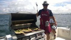 En nuestros paseos de pesca deportiva adicionamos la cocina a bordo, espectacular!! Info o reservas: (+598) 91 487 088 www.nauticalevents.com.uy/contact/