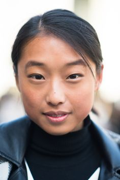 New York Fashion Week street style beauty shot by @Le 21ème