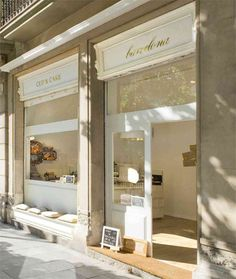 ....I love the look of this storefront...incorporate somehow??