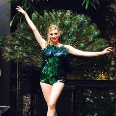 Peacock dancers