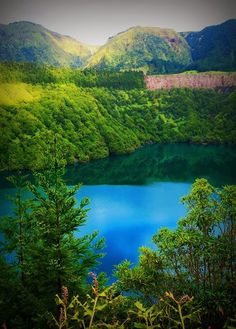 Lagoa of Fogo, Ilha de São Miguel, Açores Portugal