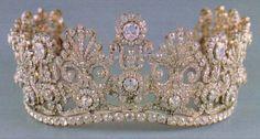 Tiara of Archduchess Margarethe Klementine Maria of Austria.