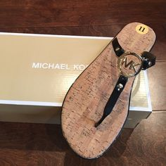 Michael kors black sandals Brand new pair of sandals with box MICHAEL Michael Kors Shoes Sandals