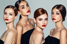 Looking to learn more about hair gel? We have you covered in our guide to the best hair gel products for your hair type, plus styling tips. Perfect Red Lips, Eye Cream For Dark Circles, New York, Beauty Shoot, Models Makeup, Photo Makeup, Hair Gel, Makeup Photography, Foto Pose