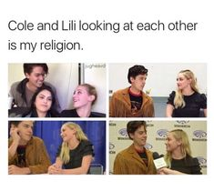 #bughead #liliandcole #sprousehart Lili Reinhart and Cole Sprouse