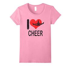 Mom Gift.I love Cheer Black Light Weight Long Sleeve Top Love Cheer Valentine Daughter