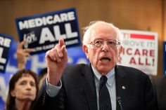 Bernie Sanders Proposes Emergency Version Of 'Medicare For All' For The Pandemic Now off the campaign trail, the senator joined Rep. Pramila Jayapal to float a temporary universal health care program. Health Care For All, Elective Surgery, Republican Leaders, Hip Replacement, Running For President, The Millions, Medical Care, Bernie Sanders, Proposal
