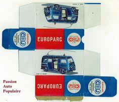 CIJ-3-93-RENAULT-ESTAFETTE-GENDARMERIE-boite-repro-box-copie-avec-autorisation