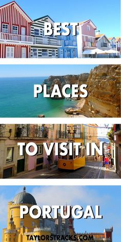 One of Lonely Planets top 10 countries to visit in 2018 is Portugal and it sure doesn't disappoint! These destinations throughout the country will make your jaw drop. #portugal #europe ***** Portugal travel | Portugal beaches | Portugal destinations | Portugal Lisbon | Portugal Porto | Portugal Aveiro | Where to go in Portugal | Portugal top places | Portugal top 10 | Portugal top cities #TravelEuropeBeach
