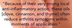 Reduce Arthritis symtoms