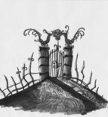 gate nightmare before christmas images