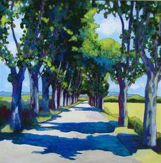 Summer in Provence - Original Fine Art for Sale - © Patricia MacDonald