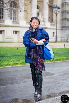 #New on #STYLEDUMONDE  http://www.styledumonde.com/  with @margaret__zhang #MargaretZhang at #paris #fashionweek #pfw #fw14 #outfit #ootd #streetstyle #streetfashion #streetchic #snobshots #streetlook #fashion #mode #style