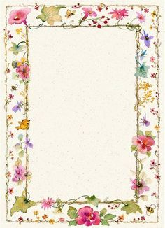 Birds butterflies and ivory boarder Free Printable Stationery, Printable Frames, Printable Paper, Borders For Paper, Borders And Frames, Envelopes, Page Borders, Paper Frames, Floral Border