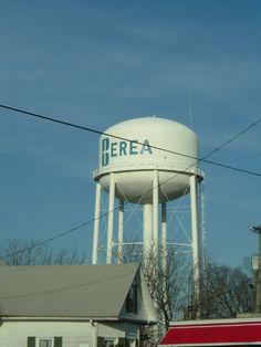 Berea, KY : Berea water tower, Berea, Kentucky
