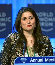 Sharmeen Obaid-Chinoy is a Pakistani Canadian documentary filmmaker.