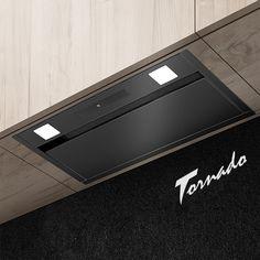 Hota se încorporează total în dulap și are o lățime de 60 cm. Turbină 1200 m3/h, cu lămpi LED. Operare prin Gesturi. Surafața fațadei este din sticlă călită Led, Bose, Touch, Mini