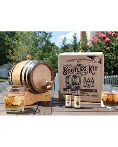 Mark's Bourbon Whiskey Making Bootleg Kit Whiskey Gifts, Bourbon Whiskey, Wine And Spirits, Decanter, Wine Recipes, Place Card Holders, Discount Wine, Kit, How To Make