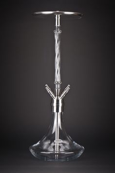 One Edelstahl Shisha mit Glasrauchsäule Hookah Pipes, Deco, Industrial Design, Vape, Design Projects, Barware, Ocean, Glass, Smoke