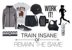 """""""Workout"""" by amcn02 ❤ liked on Polyvore featuring NIKE and Victoria's Secret"""