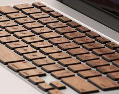 Macbook lazerwood keys, $45