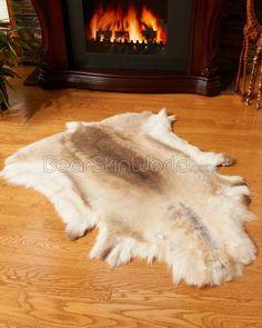 Premium Caribou - Reindeer Rugs / Hide / Skins  $199 for bedroom?