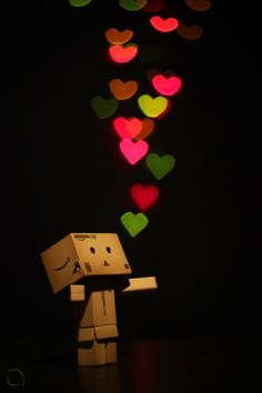 to my favorite robot: love! #cute #hearts