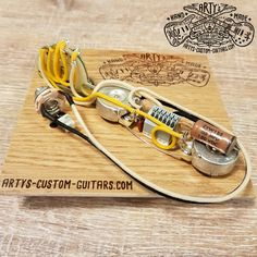 SOLDERLESS WIRING HARNESS TELECASTER 3-Way Tele artys-custom-guitars.com