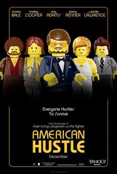 Pôsteres em versão lego dos filmes nomeados ao Oscar de 2014