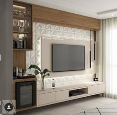 36 Amazing TV Wall Design Ideas For Living Room Decor - homepiez room tv. - 36 Amazing TV Wall Design Ideas For Living Room Decor – homepiez room tv wall modern tv u - Tv Unit Interior Design, Tv Wall Design, Tv Cabinet Design Modern, Tv Unit Decor, Tv Wall Decor, Wall Tv, Interior Design Living Room, Living Room Decor, Living Rooms