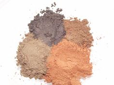 Fall Harvest color Combo Set Mineral Eye shadows pumpkin spice pilgrim and cornacopia