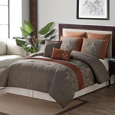 Luxury Home Isabelle 8 Piece Comforter Set & Reviews | Wayfair