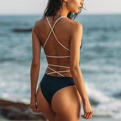 Cutting Supplies Dashing Good Quality Bikini Triangle Shorts Simple Solid Hollow Out Design Swimsuit Bottom New Sexy Lady 2018 Brazilian Bathing Trunks 100% Original