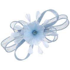 Stefiana Sinamay Fascinator McBURN fascinators (One Size - light blue) 5d07c5e30f5