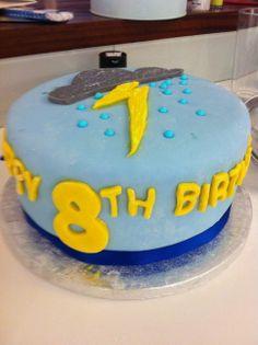 "Boys 8th Birthday ""Weather"" Cake"