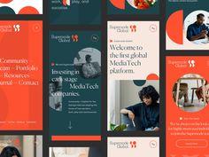 Web Design, Layout Design, Design Ideas, Graphic Design, Design Inspiration, Social Media Banner, Social Media Design, Creative Artwork, Screen Design