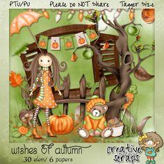 Creative Scraps by Crys: Autumn kit Freebie