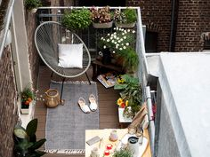 Balkon Ideen-grün Auf Dem Balkon | Garden, Patio, Sunroom ... Ideen Tipps Gestaltung Aussenraume