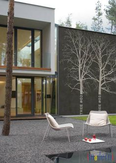 Tree Outdoor Facade System By Wall Deco