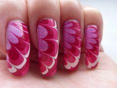Long Nail White And Pink Nails