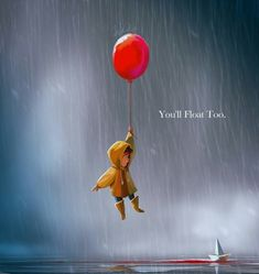 You'll float too by junchiu Es Pennywise, Pennywise The Dancing Clown, Scary Movies, Horror Movies, Es Stephen King, Stephen Kings, It The Clown Movie, Cute Cartoon Wallpapers, Horror Art