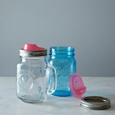 Cuppow Mason Jar Drinking Lids by Food52