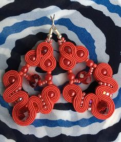 Soutache earrings rękodzieło