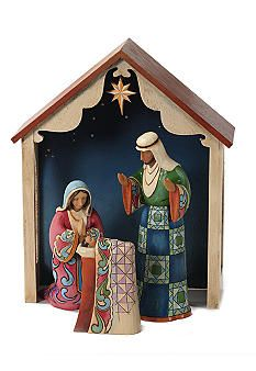 Jim Shore 4pc Nativity Set Would Love To Have This Jim Shore Christmas Christmas Nativity