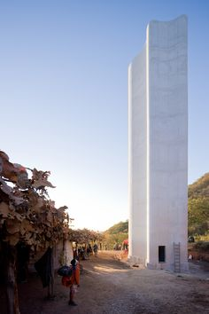 Built by Christ & Gantenbein in San Luis Potosi, Mexico with date 2012. Images by Iwan Baan. Each year around two millions of people set out on their pilgrimage through the Mexican county of Jalisco, along the ...