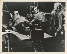 Boris Karloff in his final portrayal of the Monster in Son of Frankenstein (1939)