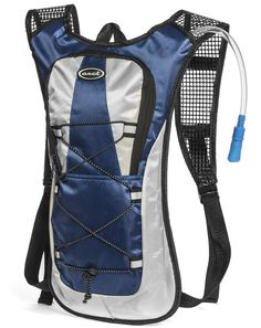 Hydration Pack - Ultra Lightweight! - Minimalist Backpack and 2L Water Bladder/Bottle. Perfect for Camping, Hiking, Running, Cycling, Fishing, Hunting, Fun/Mud Run. 1 Year Hassle-Free Warranty. (Blue). MINIMALIST DESIGN: Everything you need, nothing you don't. Our backpacks are ergonomically designed with simplicity in mind. Additional room for wallet, phone and keys. BREATHABLE: Mesh shoulder straps and back channels combine to keep you cool and dry in the heat. REPLACEABLE 2L/72oz…